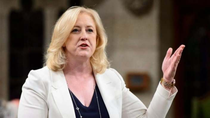 Conservative MP Lisa Raitt says her privilege was breached by Liberal minister's 'tweet' non-answer