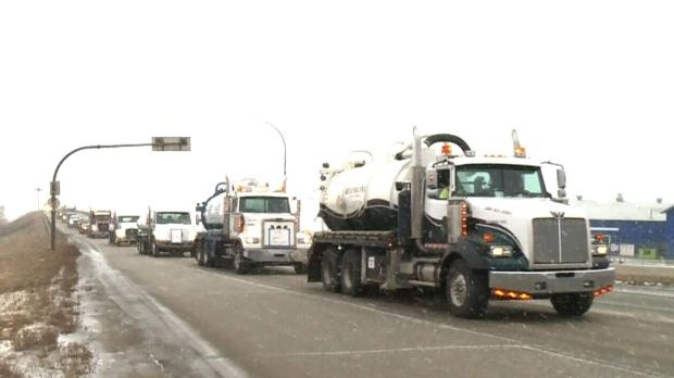 Dual Alberta oil convoys plotting protest routes to Ottawa