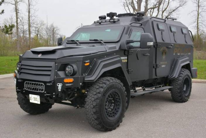 Halifax council approves $500,000 for armoured police vehicle