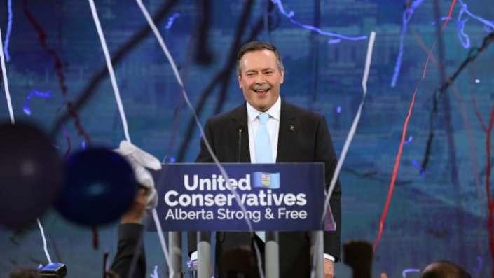 Alberta: Jason Kenney's united right wins big