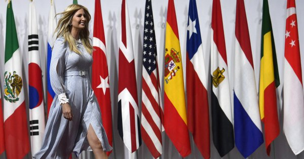IVANKA ADDRESSES WORLD LEADERS IN OSAKA