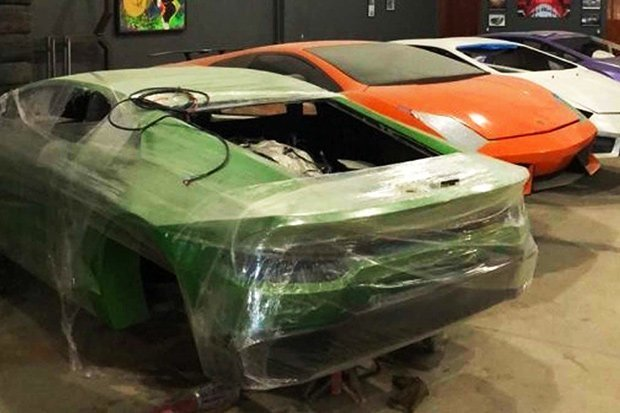 Fake Ferrari factory making phoney supercars raided by police