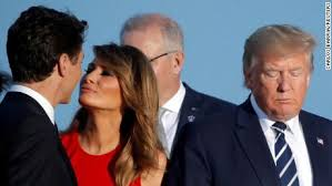 See Melania Trump's moment with Trudeau at the G7 summit