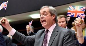 BREXIT VICTORY: Nigel Farage's Final EU Speech … Mic Gets Cut as He Waves UK Flag