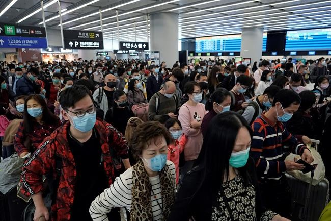 Global Affairs warns against all travel to coronavirus-affected region in China