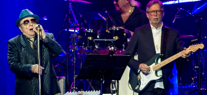 Eric Clapton and Van Morrison Release Their Anti-Mask Anthem