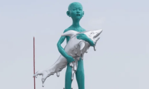 Would you want this 28-foot sculpture in your neighbourhood? 1000 Vancouverites say no way.