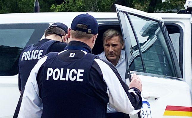 PPC  Mad Max Bernier arrested in Manitoba because … Covid