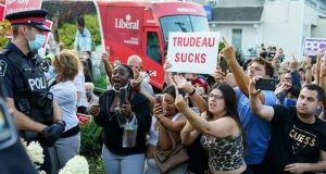 Was the Trudeau gravel incident an agent provocateurs' false flag?
