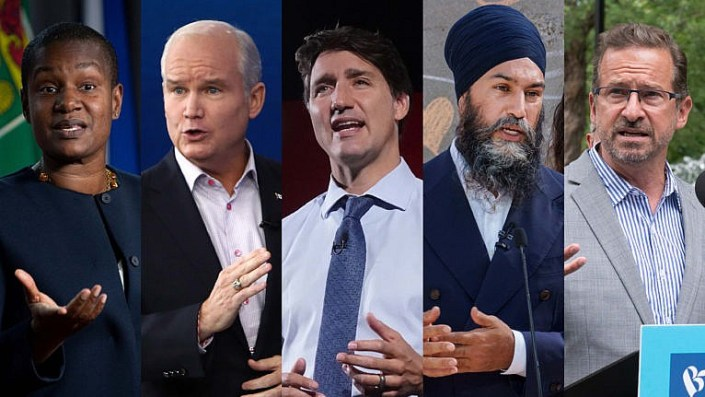 O'Toole, Paul shine, Trudeau gets roughed up in English leaders debate