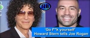 """Howard Stern attacks Joe Rogan over """"CVV-19"""" treatment"""