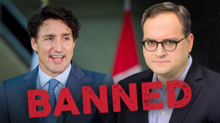 Trudeau's hand-picked debate commission BANS Rebel News … again
