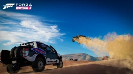 Forza Horizon 3 Truck Dune Jump