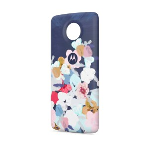 Moto Style Shell with Wireless Charging_Floral