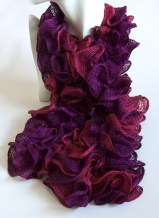Purple Can Can Scarf