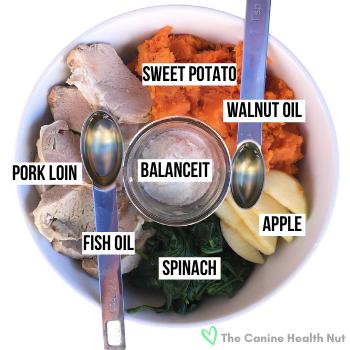 Dog Food Recipe Ingredients