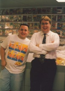 Canman and Kevin.. Circa 1994?