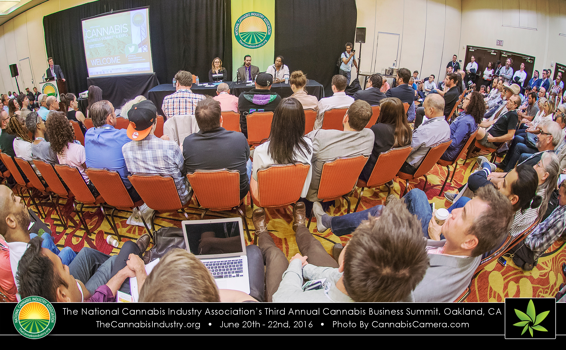 The National Cannabis Industry Associations's Cannabis Business Summit in Oakland, California