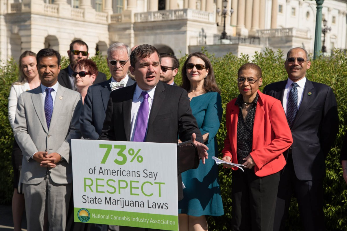 Consumerist: Pro-Marijuana Lawmakers Form First Ever Congressional Cannabis Caucus