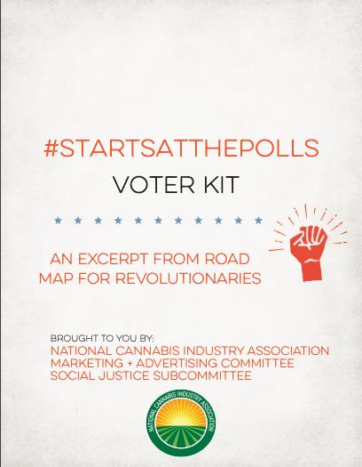 Committee Blog: Cannabis Reform #StartsAtThePolls – Voter Kit