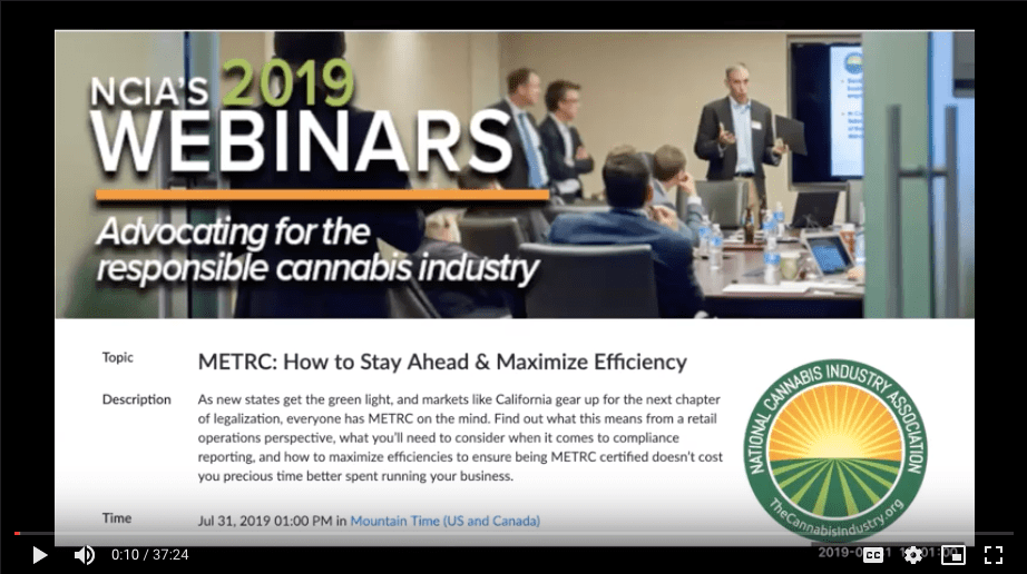 Education Archives | The National Cannabis Industry Association