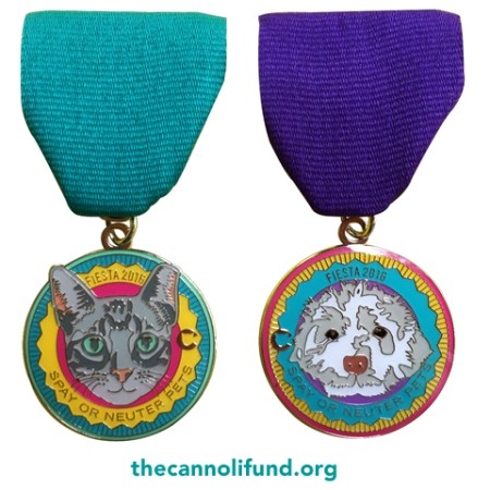 2016 fiesta medals