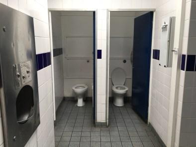 Burgate toilets