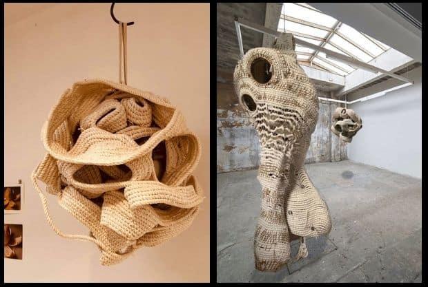 """Window Exhibition """"Rope"""""""