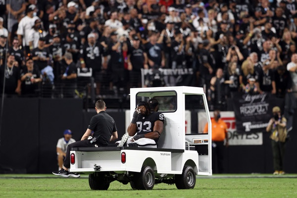 Raiders' Gerald McCoy suspended 6-games for substance abuse