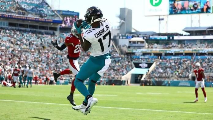 Jaguars' Chark breaks ankle on 2021 TNF vs. Bengals