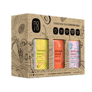 Nojo Natural & Gluten Free Gift Pack 3x200ml