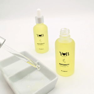 Maternity Bath & Body Oil for C-section scars & after labour damage