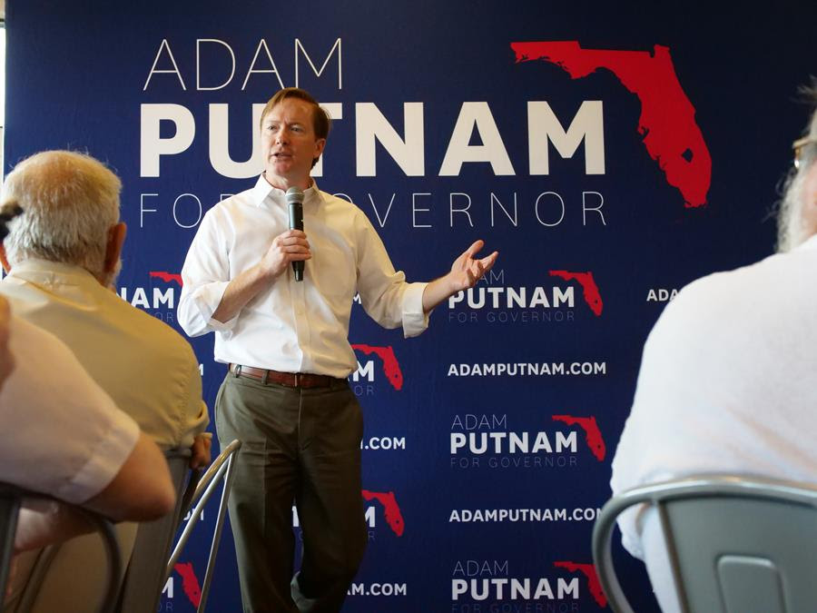 Adam Putnam hoping to connect with Floridians during bus tour