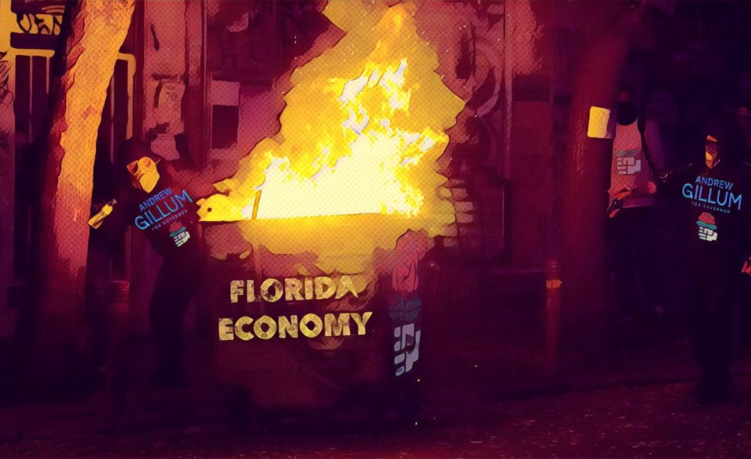 Tampa Bay Times admits: Gillum tax plan an economic dumpster fire for Florida