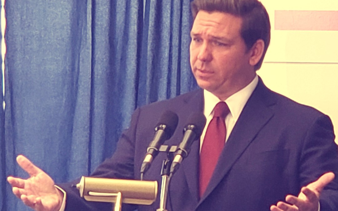 DeSantis' honeymoon continues, one observer says he's already shown more leadership than Rick Scott