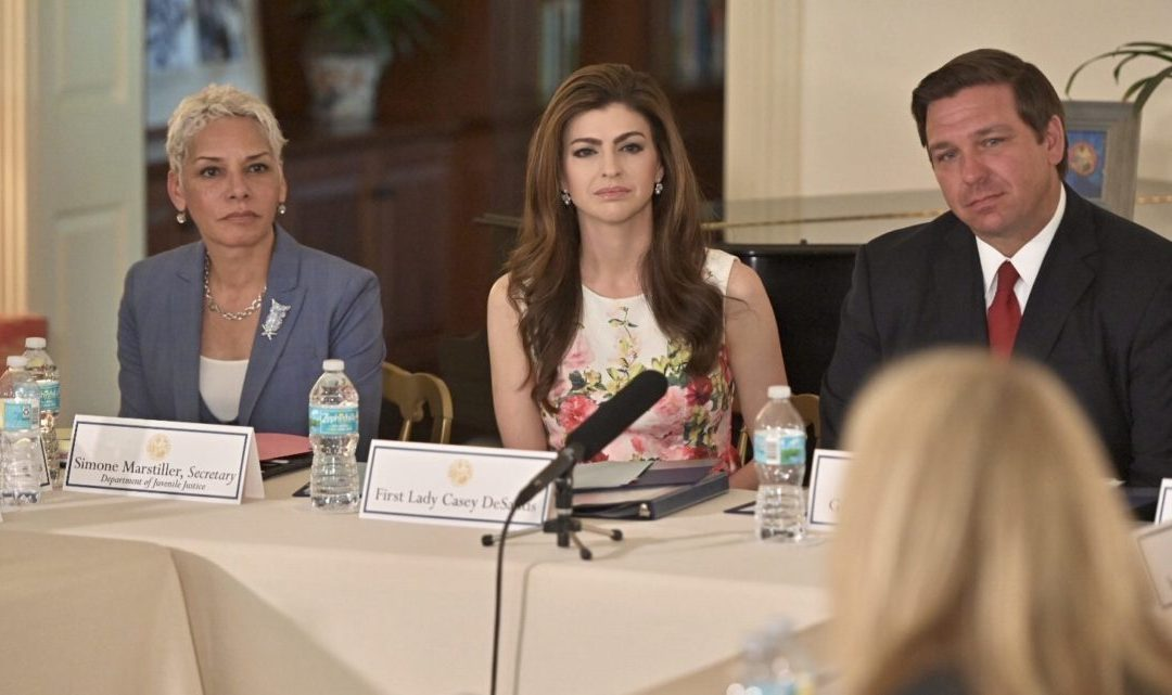 "Gov. DeSantis and First Lady hold ""listening session"" on mental health and suicide prevention"