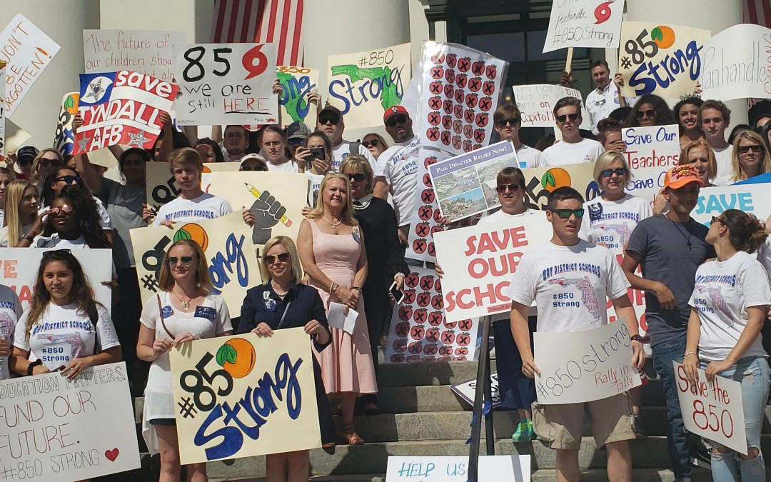 """Hurricane Michael victims' message to legislators: """"Don't forget about us. We need help."""""""