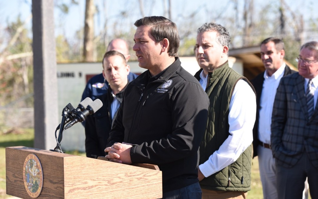 "DeSantis ask feds for more hurricane relief, while Fried releases mini-documentary called ""America's Forgotten Disaster"""