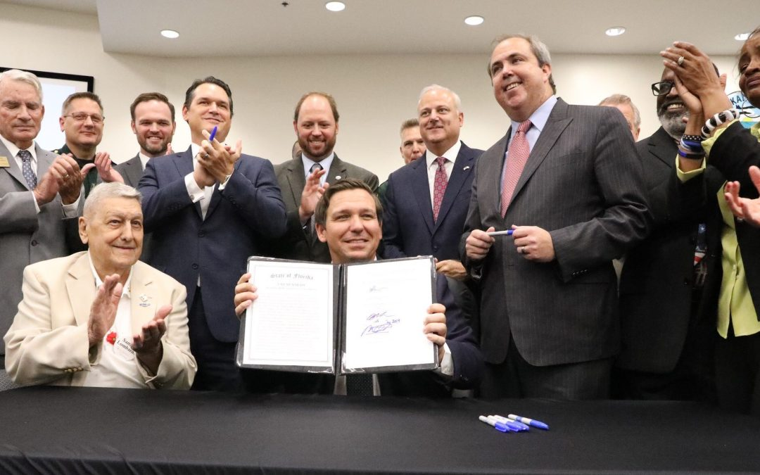 Gov. DeSantis signs bill into law banning sanctuary cities in Florida