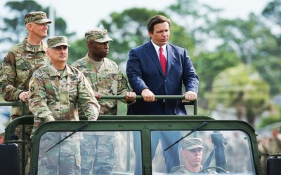 Gov. DeSantis orders Florida National Guard troops home from 'half-cocked mission'