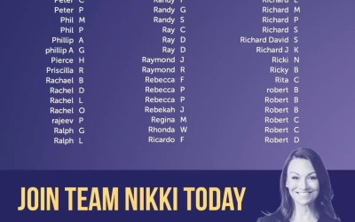 Nikki Fried touts 2,169 campaign contributions, one appears to be from Rebekah Jones