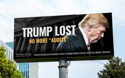 Never Trump group launches campaign targeting post-election audits