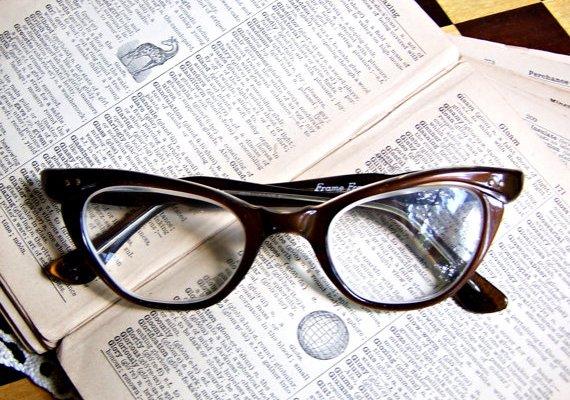 Ever Present Past: Cat Eye Glasses