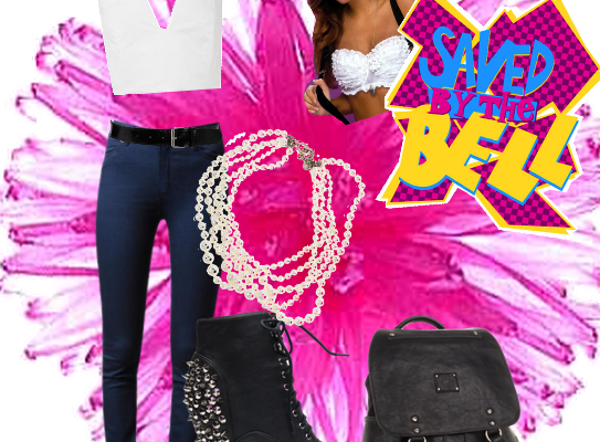Character Wear: Kelly Kapowski, Saved by the Bell