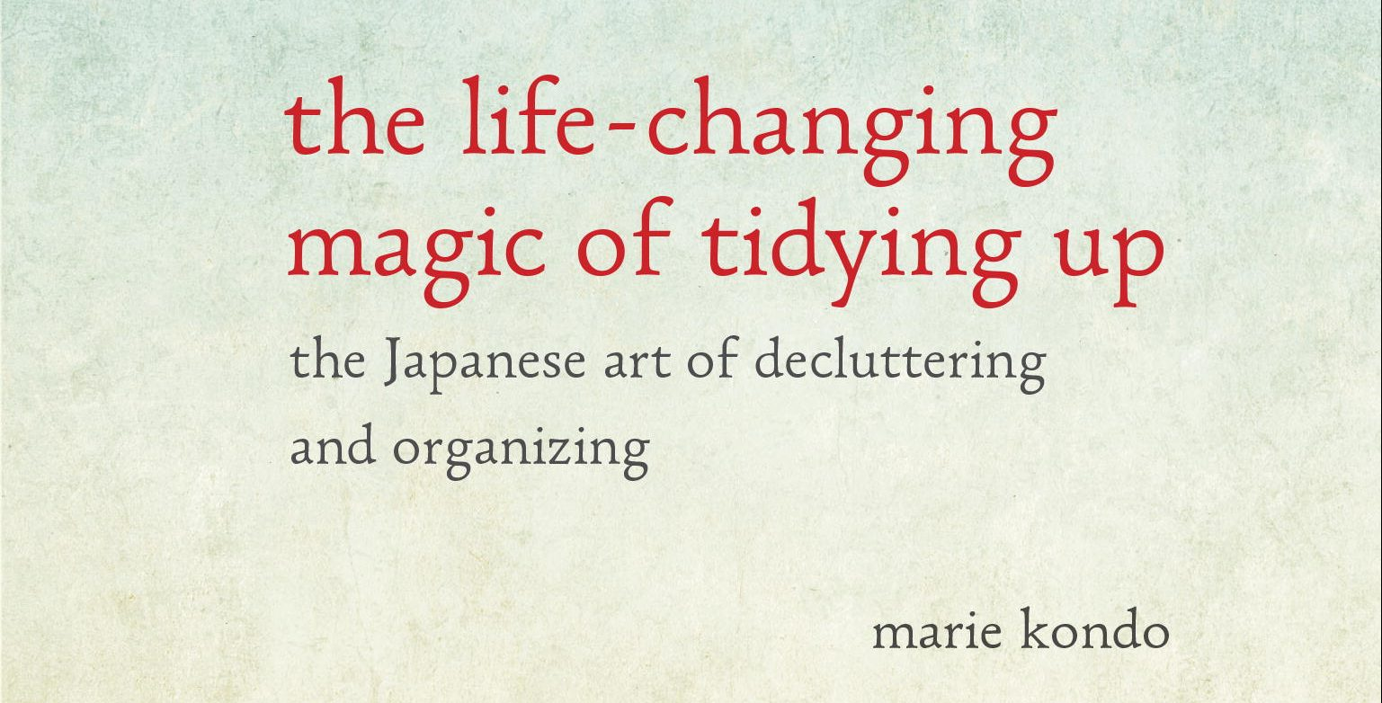 Guest Editor: The Magic of Tidying Up