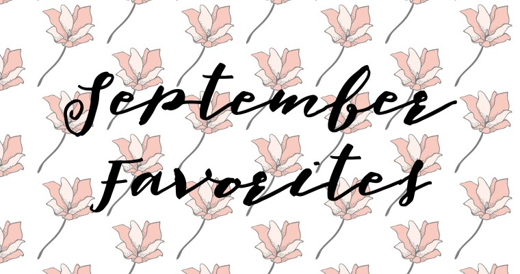 From the Editor: September Fashion & Beauty Faves