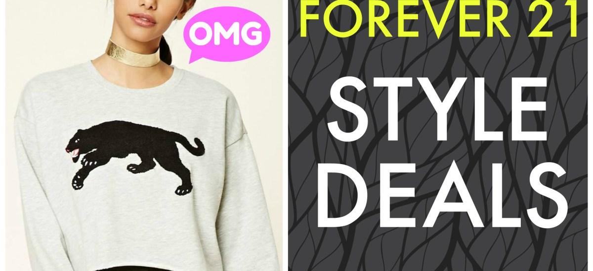 Style Deals Alert | Forever 21 Deals November 2017