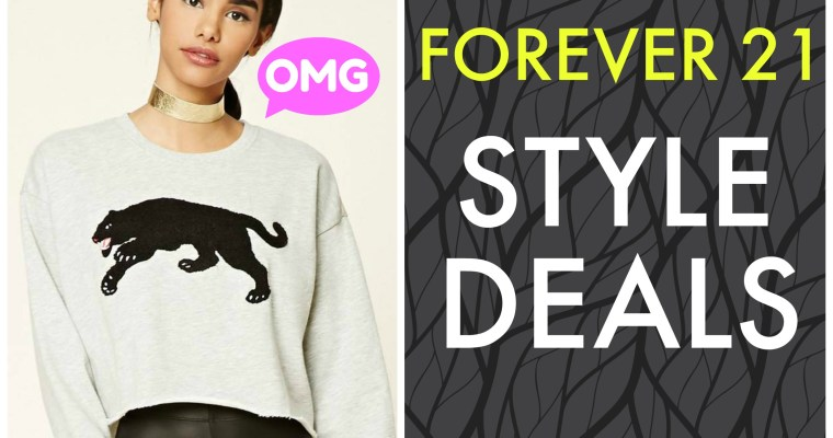 Style Deals Alert | Forever 21 Deals November 2017