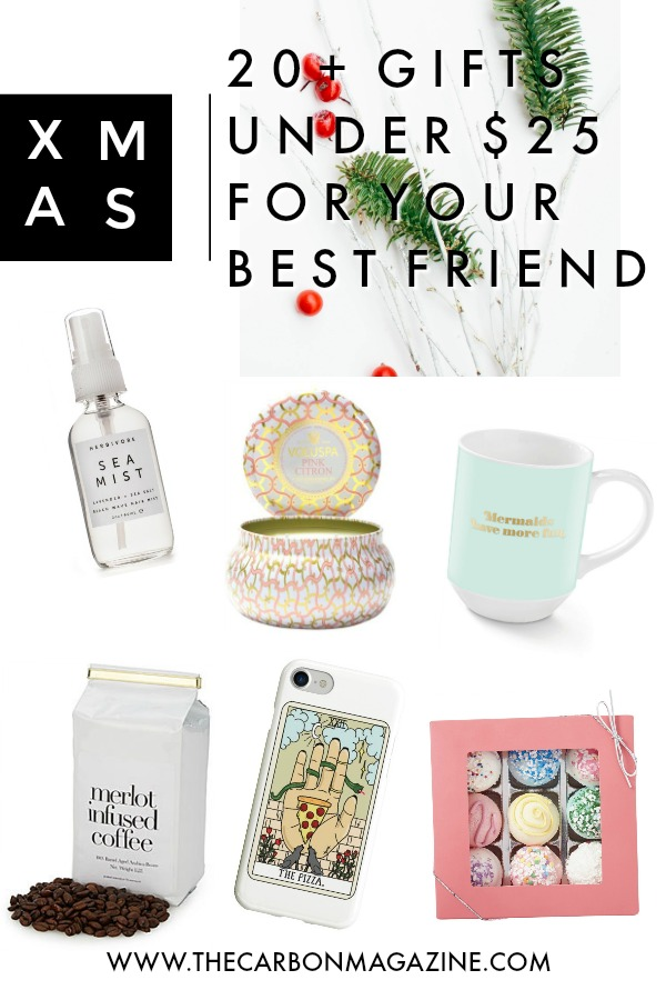 20 budget friendly gifts for your best friend