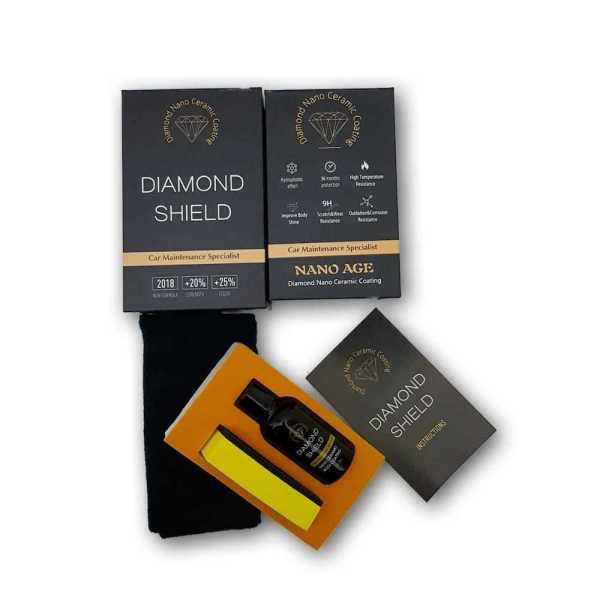 Diamond nano ceramic coating